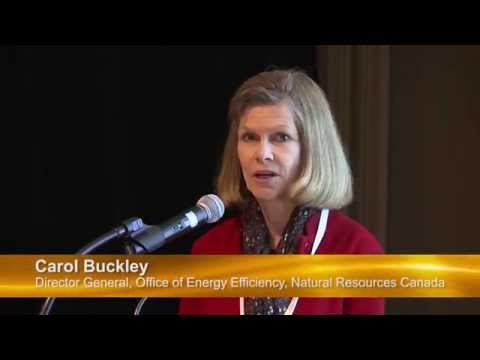 Remarks from Carol Buckley of Natural Resources Canada