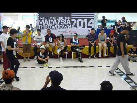 Malaysia Throwdown 2014 - All Style Top 16 - Wendy Leong vs Ash