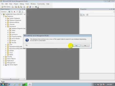 08-How to create database diagram (in SQL Server) to know relationships between tables