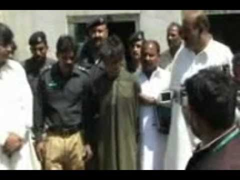 Bhakkar (Murday khor insan arrested by police.