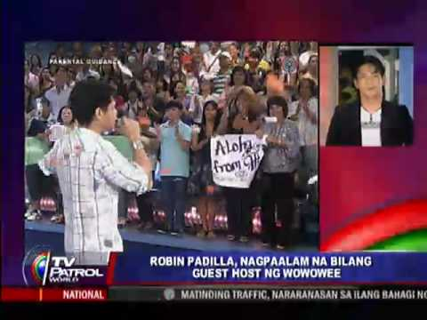 TV Patrol World Q&A: Robin Padilla