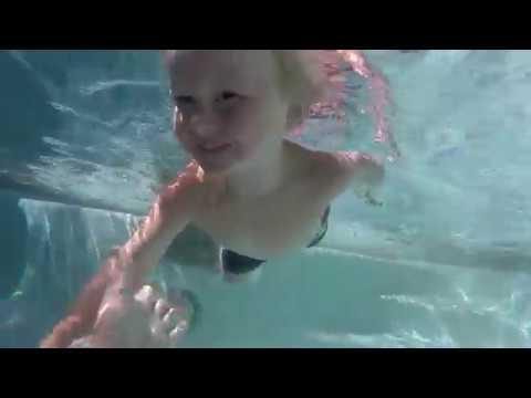 We got a swimmer!