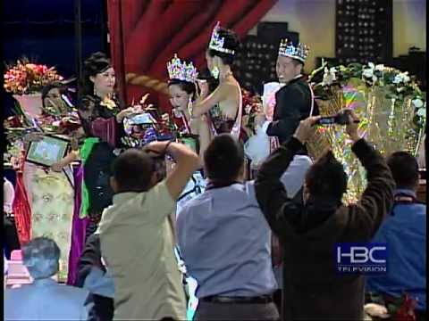 Crowning of Mr. & Miss Hmong American Beauty Pageant.