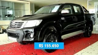 Toyota Começa A Vender Linhas 2015 Da Hilux E Do SW4, Que