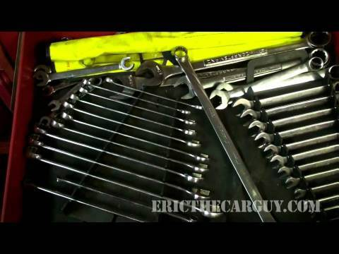 What's Inside EricTheCarGuy's Tool Box? - EricTheCarGuy