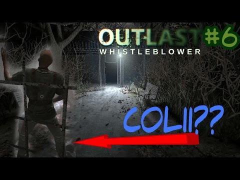 ANJIIR! ADA ORANG COLI!! - outlast whistleblower part 6