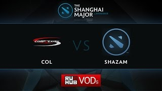 coL vs Shazam, Shanghai Major America Quali, Play-Off, Game 1