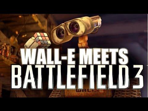 Wall-E Meets Battlefield 3