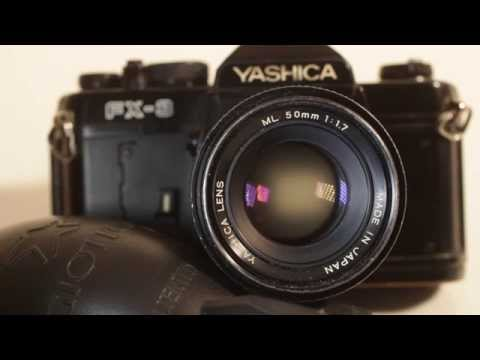 Yashica ML Lens and FX-3 SLR Video Manual