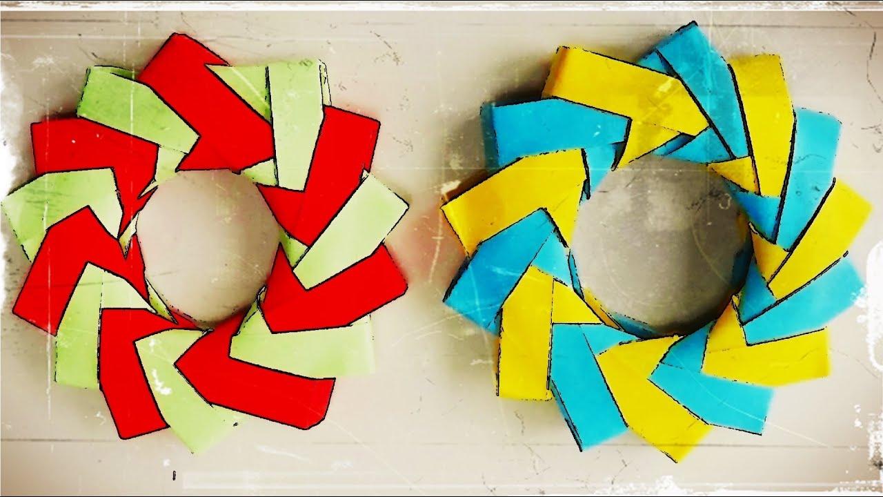 Estrella de 14 puntas origami modular 3d youtube - Origami de una estrella ...