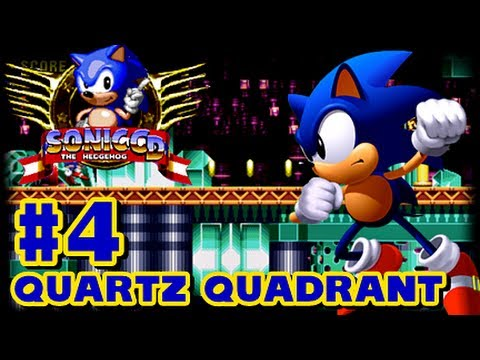 Sonic CD PC - (1080p) Part 4 - Quartz Quadrant