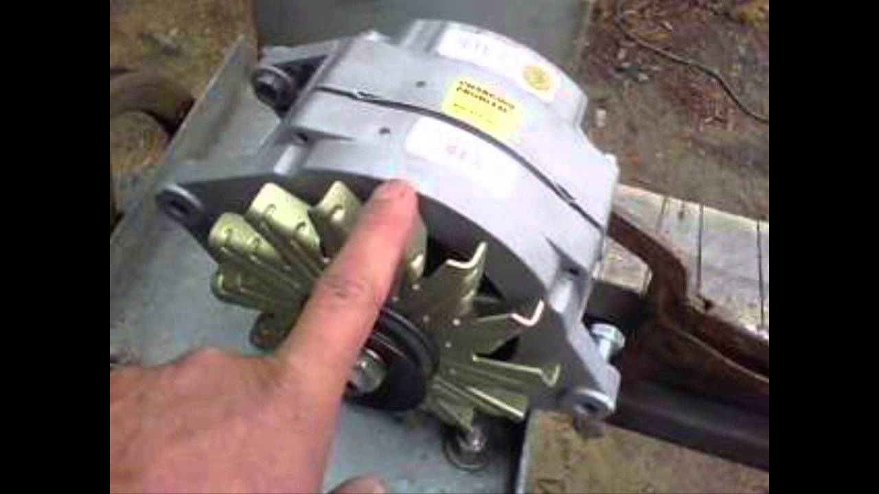 Car Alternator Wind Generator : Plans to build garden windmill george mayda
