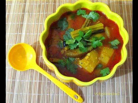 Mangai Sambar recipe