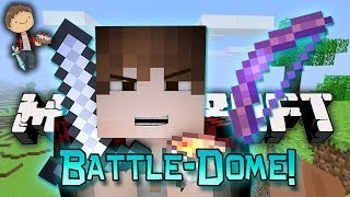 Minecraft: BATTLE-DOME w/Mitch & Friends Part 2 - The Saddest Fight...
