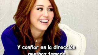 'Love That Let's Go'Miley Cyrus (subtitulada Al Español