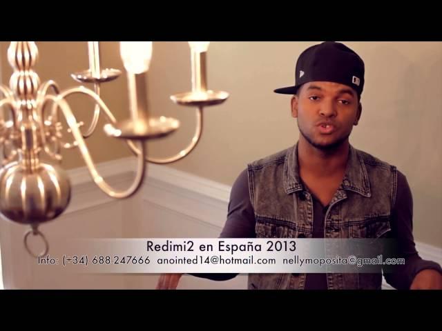 Redimi2 en España 2013 @realredimi2