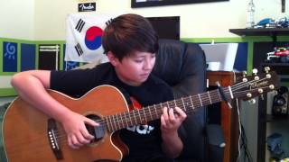 Katy Perry Roar Fingerstyle Acoustic Guitar Andrew
