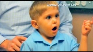 MIRACLE!! Deaf Boy Hears Father's Voice For the First Time!!! view on youtube.com tube online.