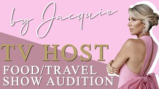 Food/Travel Show Audition Tape/ Jacquie Blaze (TV Host)