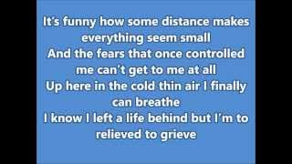 Let It Go Demi Lovato (Frozen) Lyrics HD