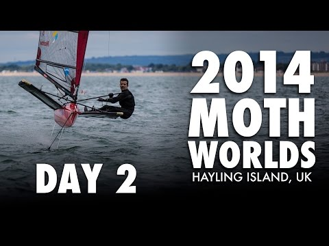 2014 Moth Worlds - Day 2
