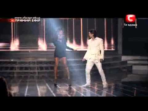 X-Factor Ukraine Jamelia and Alexey Smirnov Beware of the dog