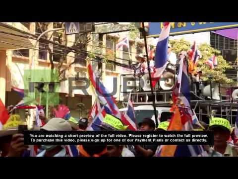 Thailand: Suthep rallies support for upcoming Bangkok shutdown