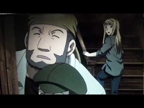 Fullmetal Alchemist Brotherhood - Funny Moment (Ed eating in Winry's room