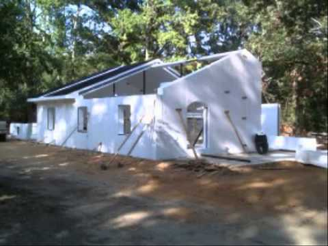 Concrete And Foam Structures House Construction Youtube
