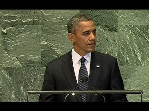 President Obama Speaks to the United Nations General Assembly --GqYCKV2wzA
