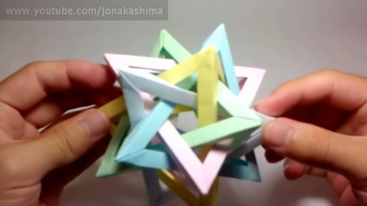 Top 10 origami youtube for How to make simple things out of paper