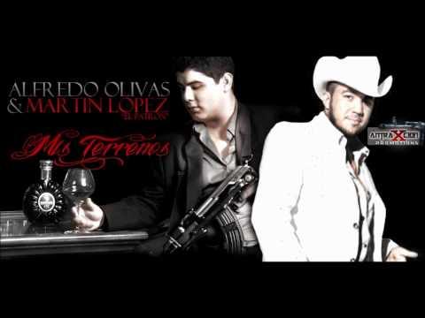 Son Mis Terrenos- Alfredito Olivas Ft. Martin Lopez El Patron (ESTUDIO 2012)