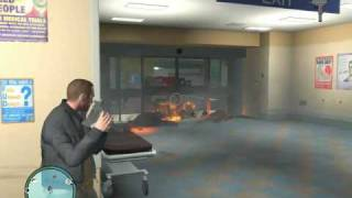 Grand Theft Auto IV Hospital Rampage (Part I)