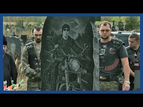 The Night Wolves MC: Vladimir Putin's motorbiking militia of Luhansk | Guardian Docs