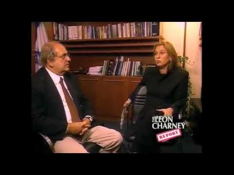 Tzipi Livni on The Leon Charney Report
