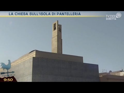 La chiesa sull'isola di Pantelleria