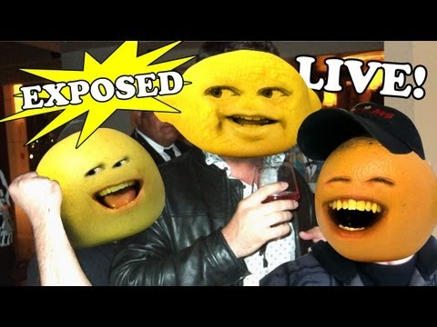 Daneboe Exposed #12: LIVE with Annoying Orange Crew!