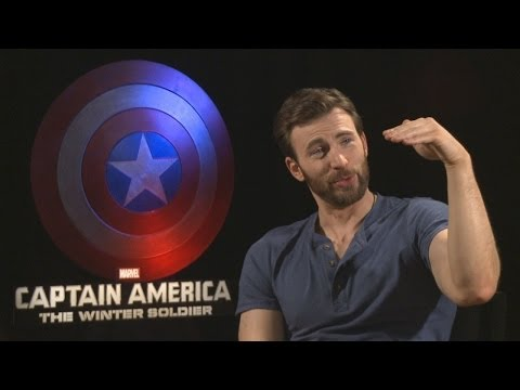 CAPTAIN AMERICA: THE WINTER SOLIDER Interviews - Chris Evans, Samuel L Jackson, Anthony Mackie,