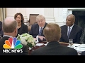 President Trump Meets With Airline And Airport Executives At White House | NBC News