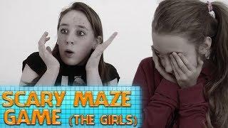 Scary Maze Game | ocUKids Pranks (The Girls)