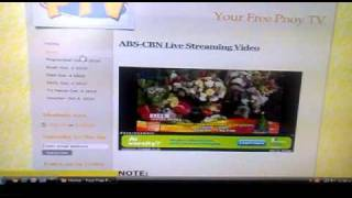 Watch Free Pinoy TV/teleserye/Live Streaming!