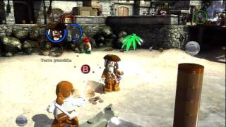 LEGO Piratas Del Caribe [Demo Gameplay] Español