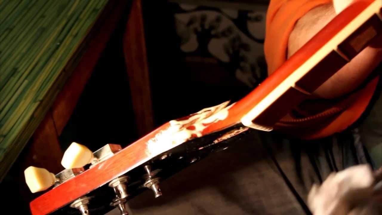 Ремонт головки грифа гитары
