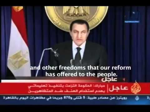 Egyptian Revolution 2011. World MUST MUST watch this. Freedom for All!