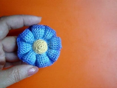 Crochet Patterns In Youtube : ... ????? ???? 37 Free crochet flower pattern - YouTube