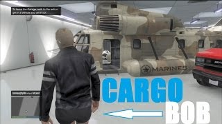 How To Save A CARGOBOB In Your Garage (GTA V Online)