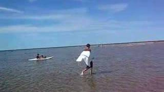 [Guy Walking on water, no tricks!!] Video