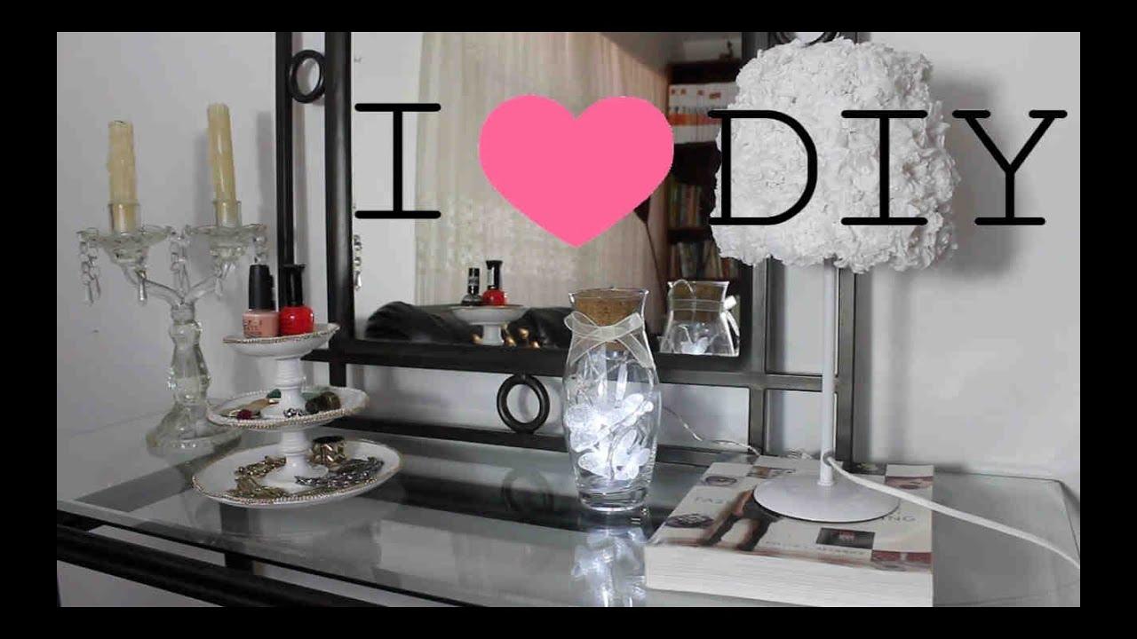 Diy 4 ideas para decorar tu habitaci n diy 4 ideas to for Tips para decorar una habitacion