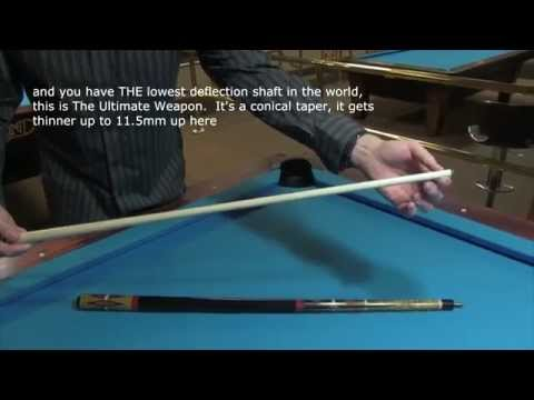 LOW DEFLECTION SHAFT REVIEW OF MEUCCI CUES