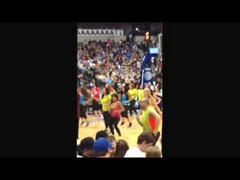 Zumba 2014 dallas mavericks